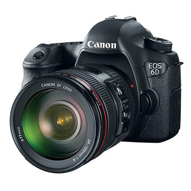 Canon EOS 6D 20.2MP Digital SLR Camera