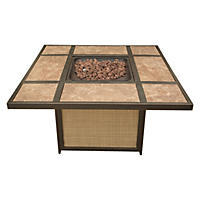 Artisan Tile-Top LP Gas Fire Pit