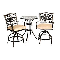 Traditions 3-Piece High Dining Bistro Set