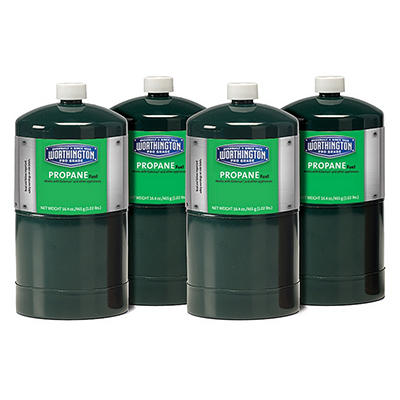 Propane Gas Cylinders - 1 lb. capacity - 4 ct.