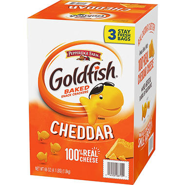 Pepperidge Farm� Cheddar Goldfish� - 4.1 lbs.