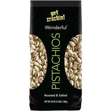 Wonderful® Pistachios - In Shell - 3 lb.