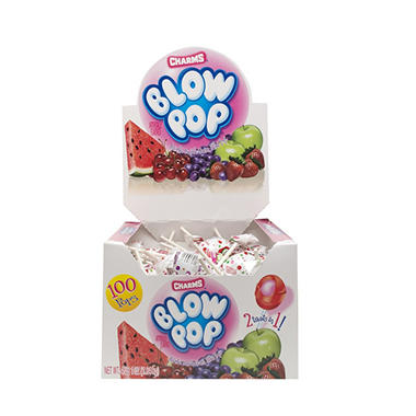 Charms® Blow Pop® Assorted - 100 ct.
