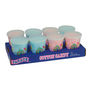 Parade™ Cotton Candy - 8/2oz tubs