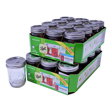 Ball Regular Mouth Jars - 8 oz. 24 Jars