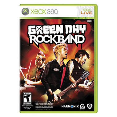 Green Day Rock Band - Xbox 360