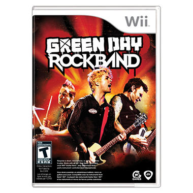 Green Day Rock Band - Wii