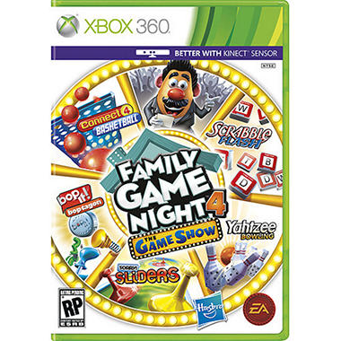 Family Game Night 4: The Game Show - Xbox 360 Kinect