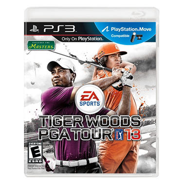 Tiger Woods PGA Tour 13 - PS3 Move