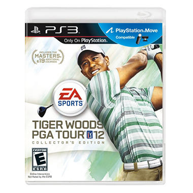 Tiger Woods PGA Tour 12: The Masters Collector's Edition - PS3