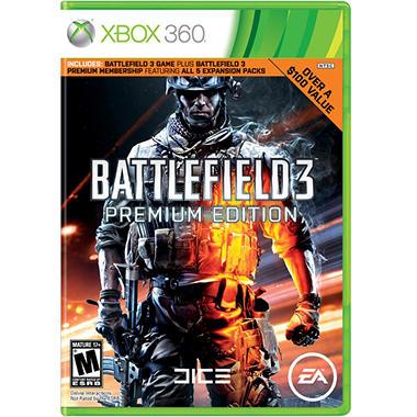Battlefield 3 Premium Edition-  Xbox 360