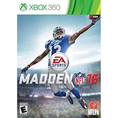MADDEN NFL 16 XBOX 360