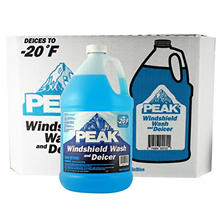 Peak Windshield Wash and Deicer - 1 gal. bottles - 6 pk.