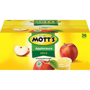 Mott's Original Applesauce - 4.0 oz. - 36 pk.