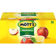 Mott's Original Applesauce - 4.0 oz. - 36 pk.
