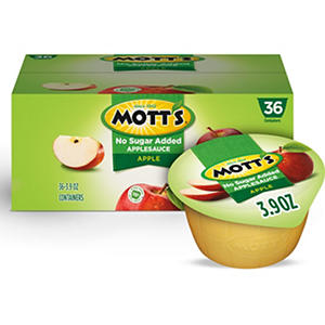 Mott's Natural Applesauce (3.9 oz., 36 pk.)