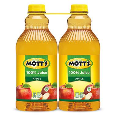 Mott's 100% Apple Juice (86 fl. oz., 2 pk.)