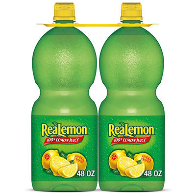 ReaLemon Juice - 48 oz. Squeeze Bottles - 2 pk.