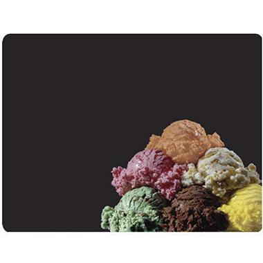 Ghent Temptation Series Menu Board - Ice Cream