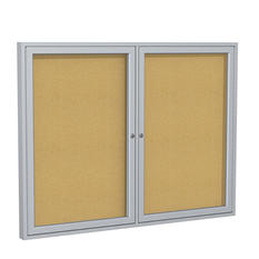 Ghent Enclosed Bulletin Boards - 3' x 4'