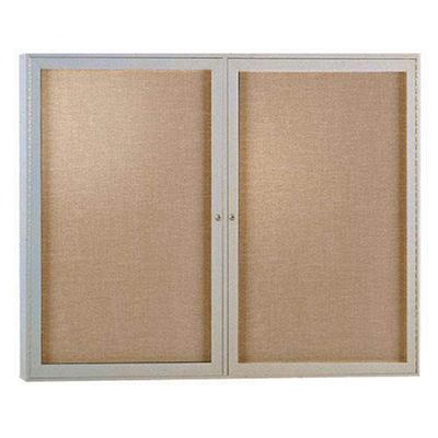 Ghent - Enclosed Vinyl Bulletin Board Message Center