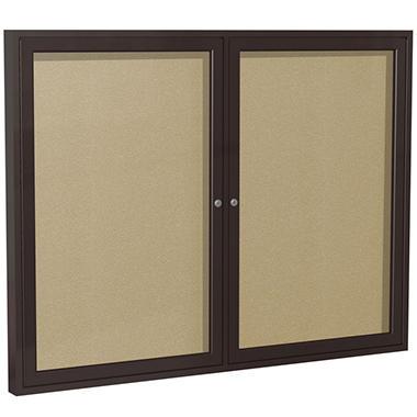 Ghent - Enclosed Bulletin Board