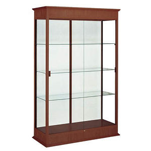 Varsity by Waddell Display Case - Cherry Oak