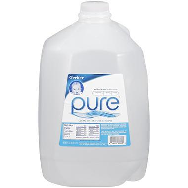 Gerber - Pure Water - 1 gal.