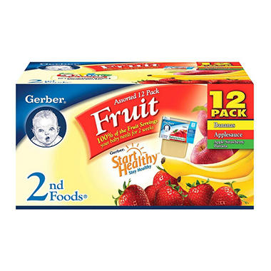 Gerber 2nd Foods - 18 pk.