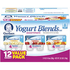 Gerber Infant Yogurt - 3.5 oz. -12 pk.
