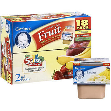 Gerber® Fruit/Vegetable Case