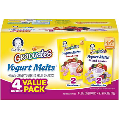 Gerber Graduates Yogurt Melts (1.02 oz., 4 pk.)