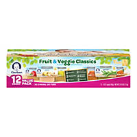 Gerber 1st Foods Fruit & Veggie Classics, Variety Pack (2.5 oz, 24 ct.)