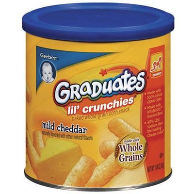 Gerber Graduates Lil' Crunchies, Mild Cheddar (3 pk.)