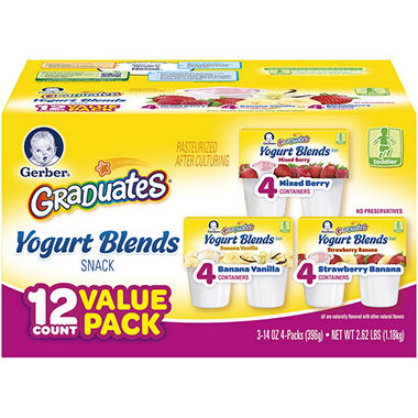 Gerber Graduates Yogurt Blends - 12 pk.