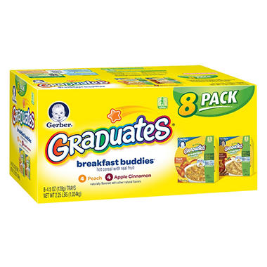 Gerber Graduates Breakfast Buddies - 8 pk. - 4.5 oz.