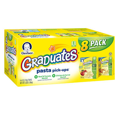 Gerber Graduates Pasta Pick-ups (8 pk., 6 oz.)