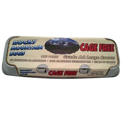 Rocky Mountain Cage Free Eggs - 1 doz.