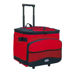 TCL Cool Carry Single Rolling Cooler - Red