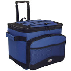 TCL Cool Carry Single Rolling Cooler - Blue