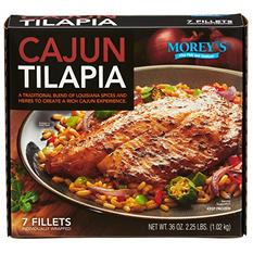Morey's Cajun Tilapia (7 fillets)
