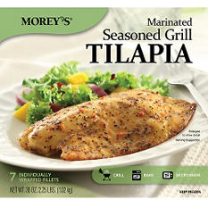 Morey's® Marinated Seasoned Grill Tilapia - 7 ct.