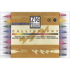 Calligraphy Dual Point Pens 8/Pkg