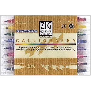 Calligraphy Dual Point Pens 8/Pkg
