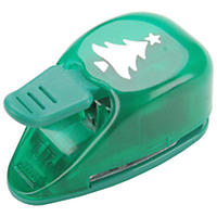 Paper Shapers Medium Punch - Christmas Tree