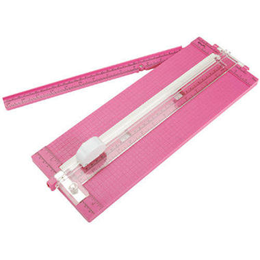 "Cutterpede Paper Trimmer 12"" - Pink"