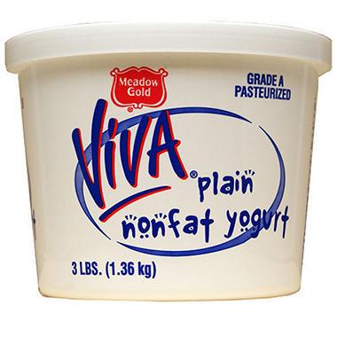 Viva Non-Fat Yogurt - 3 lbs