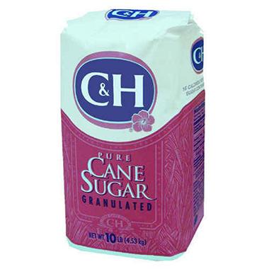 C&H Pure Cane Extra Fine Sugar - 10 lbs.