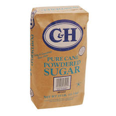 C&H Powdered Sugar - 25 lb. bag