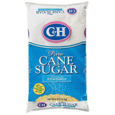 C & H� Confectioners Powdered Sugar-4 lb. bag